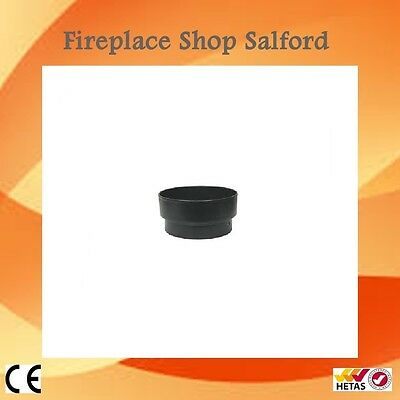 "6 inch to 5 inch reducer for flue pipe wood burning stove 6"" to 5"""