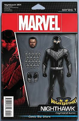 Nighthawk #1 (2016) 1St Printing Christopher Action Figure Variant Cover