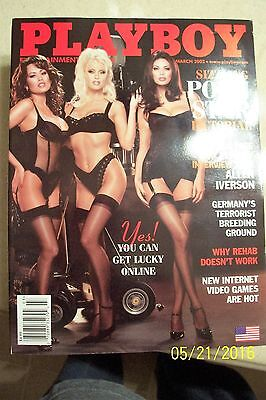 Playboy Magazine - March 2002