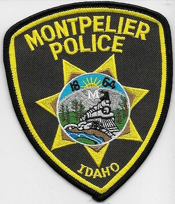 Montpelier Idaho Id Police Dept Train Big M Mpd Pd Trees Local State County