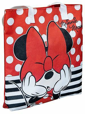 Disney Minnie Mouse Medium Children Reusable Shopping Bag Attractive Red / White
