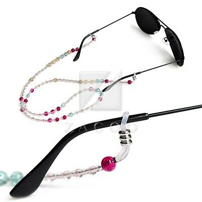 70cm Glasses Sunglasses Spectacle Beads Chain Strap Cord Holder Neck Lanyard