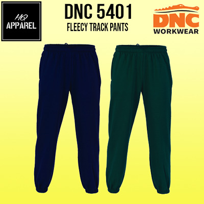 Track Pants Poly/cotton Fleecy Work Wear 5401 Dnc