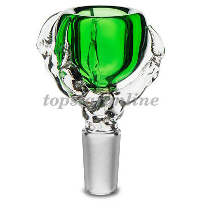 14mm Dragon Claw Glass Slide Bowl With Free Screens USA Fast Free Shipping