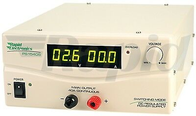 Rapid SPS-9400-209MG SMPS(Switch Mode Power Supply) 15V 40A with Digital Display