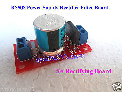 AC 12V 18V 8A  Power Supply Rectifier Filter Board For Amplifier AMP Board