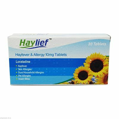 Haylief Loratadine Hayfever and Allergy Relief 10mg 300 Tablets - GSL