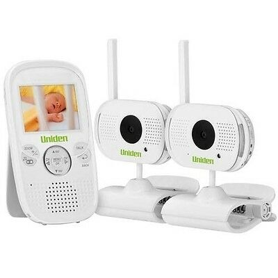"Uniden 2.3"" Digital Wireless Baby Video Monitor - With 2 Cameras"