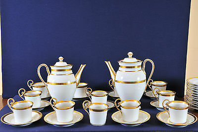 Antique Coffee set for 12 person, Altwien, early 19th century