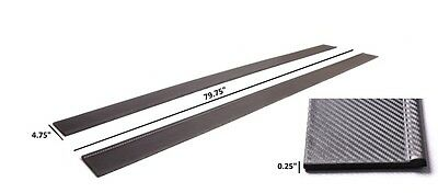 Japstyle Universal Carbon Effect Side Skirts Step Sills Under Tray Lip Civic Ek
