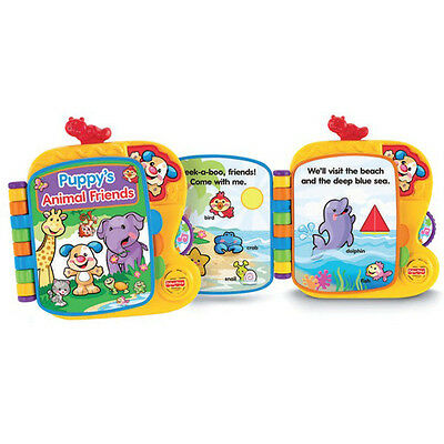 Fisher Price Laugh & Learn Puppy's Animal Friends Book