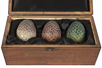 Game of Thrones Dragon Eggs Licensed Prop Replica Boxed Gift Set