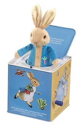Peter Rabbit Jack In The Box - Beatrix Potter Free Shipping!