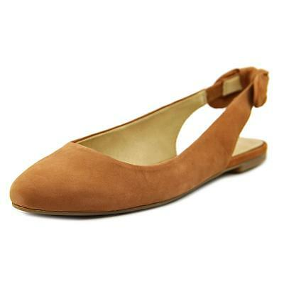 Lucky Brand Alixis   Round Toe Leather  Flats