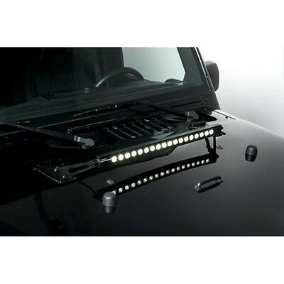 "PUTCO 2285 Luminix LED Light Bar Hood Bracket; 20""; For Jeep Wrangler JK"