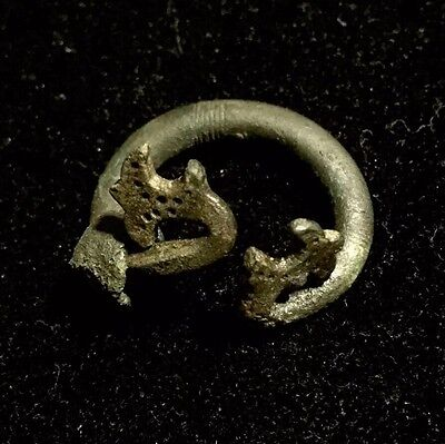 "Ancient Viking Dragon Fibula/Brooch ""RARE"""