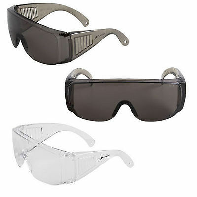 3 x  Visitor Eye Safety Protective Eyewear Polycarbonate Lens Vented Sides