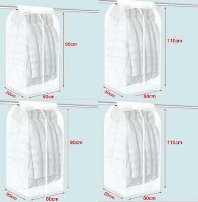New Home Dress Clothes Garment Suit Cover Bag Dustproof Storage Protector 8 Size