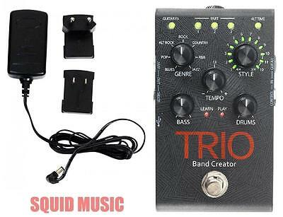 DigiTech Trio Band Creator Guitar Effects Pedal  ( w/ ADAPTER POWER SUPPLY )