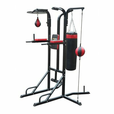 Power Boxing Station Stand Gym Speed Ball Punching Bag