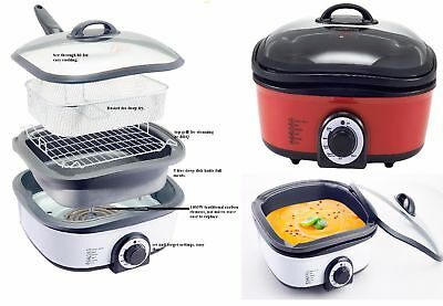 New Healthy Cooker 1300W 13L Multifuctional LCD Air Fryer Low Fat Oil Free much