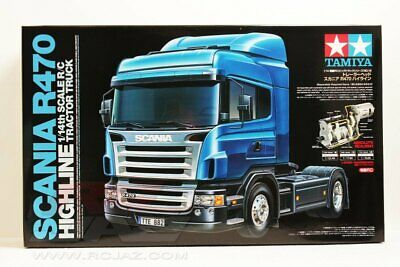 Tamiya 56318 1/14 Scale RC Scania R470 Highline 4x2 Tractor Truck Kit