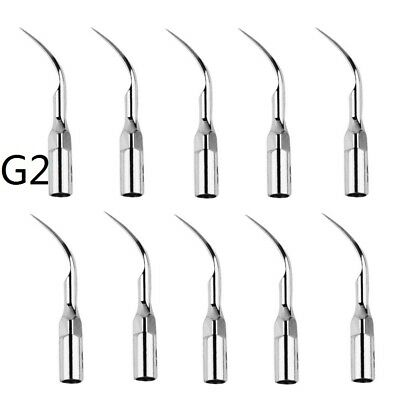 10PCS Dental Ultrasonic Scaling Tips G2 for EMS WOODPECKER Scaler&Handpiece