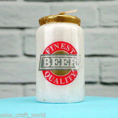 Beer Can Novelty Candle