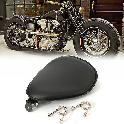 KIT MOTO ASIENTO CON MUELLES PARA Harley Chopper Bobber Solo Seat V Shape