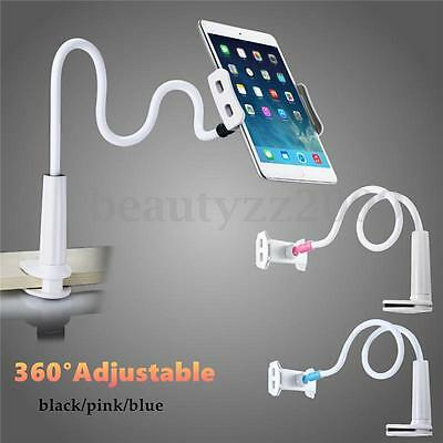 80cm 360° Flexible Lazy Bed Stand Tablet Holder Mount For iPhone iPad Air
