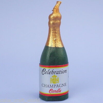 Champagne Bottle Novelty Candle
