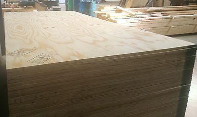 £24 Per Board 2.44m x 1.22m x 18mm Exterior Grade wbp Softwood Ply Good Quality