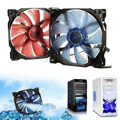 3pin/4-Pin 120mm PWM Control 2000RPM LED PC Computer Case CPU Cooler Cooling Fan