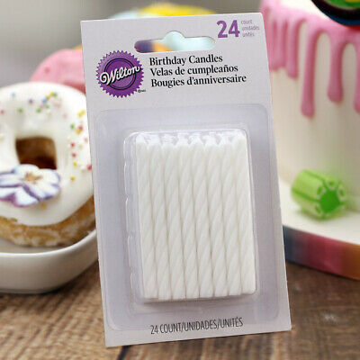 Pack Of 24 White Candles