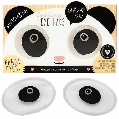 Oh K! Panda Eyes Cooling Soothing Relaxing Eye Pads