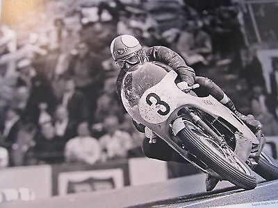 Poster Tourist Trophy (Isle of Man) 1967 #3 Mike Hailwood (GBR) Honda 350