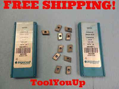 Ingersoll Max-I-Insert CDE322R03 Grade 227 Carbide Inserts for Facemilling 11PCS