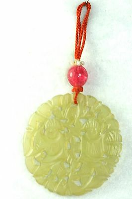 Vintage antique chinese carved jade pendant for a necklace 24500 vintage antique chinese carved jade pendant for a necklace aloadofball Images