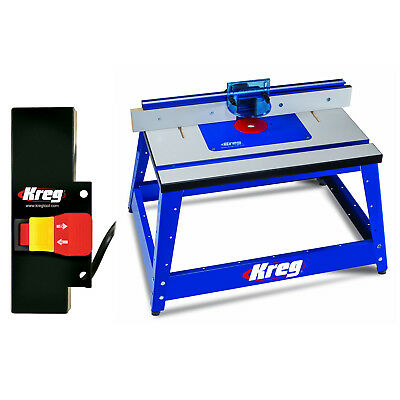 Kreg PRS2100 Bench Top Router Table w/ PRS3100 Router Table Switch