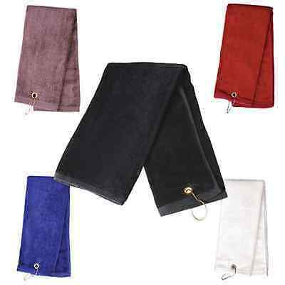 Tw01A Golf Towel With Hook Sport Gym Tour Towels