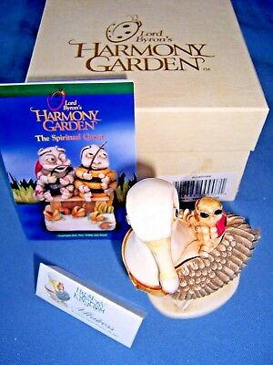 Harmony Kingdom~ALBATROSS~Sea Bird~Lord Byron's Garden~Box Figurine~Retired~MIOB