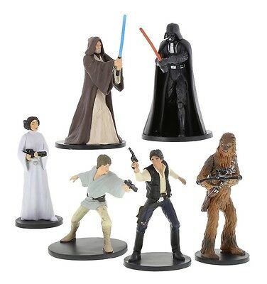 Disney Parks Star Wars Iv A New Hope Figurine Playset Collectible Darth Vader