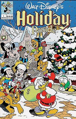 Walt Disney's Holiday Parade Number 1 Winter 1990 Carl Barks Donald Duck Xmas