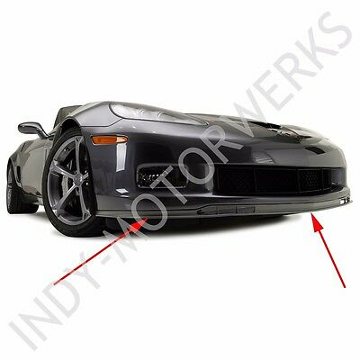 C6 Corvette Gs Zo6 Front Chin Spoiler Fits The C6 Grand Sport + Z06 2006 Thru 13