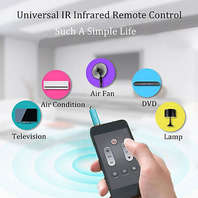 Universal IR Infrared Remote Control TV STB DVD For Samsung LG iPhone Mobiles OH