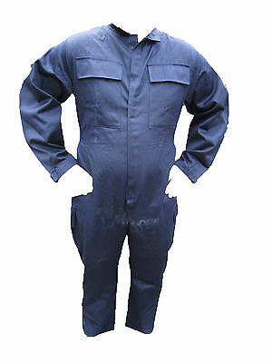 NEW Genuine Navy Blue Coveralls Military Army Surplus Overall Boiler Suit Flame