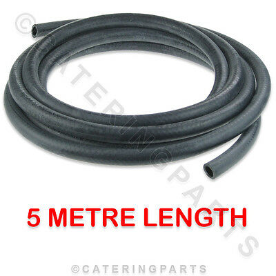 5 METRE RUBBER HOSE TUBE HIGH TEMPERATURE RINSE HOT WATER TUBING 16mm OD 10mm ID