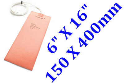 150mm X 400mm, 230V, 40 Degree C built-in thermostat No 3M 1PC  silicone heater