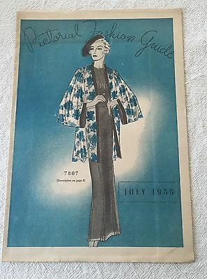 C. J. Hovey Company Of Boston Pictorial Fashion Guide 1935