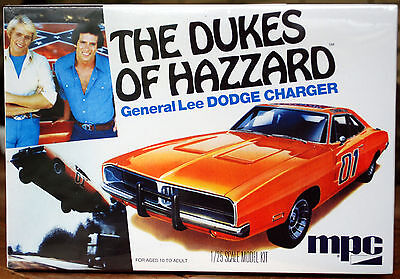 1969 Dodge Charger General Lee Dukes of Hazzard, 1:25, MPC 706